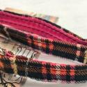 1/2″ XS Orange & Pink Plaid
