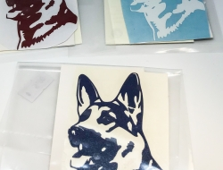German Shepherd 2 Decal