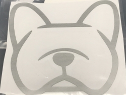 Frenchie Decal