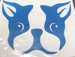 Boston Bull Dog 1 Decal