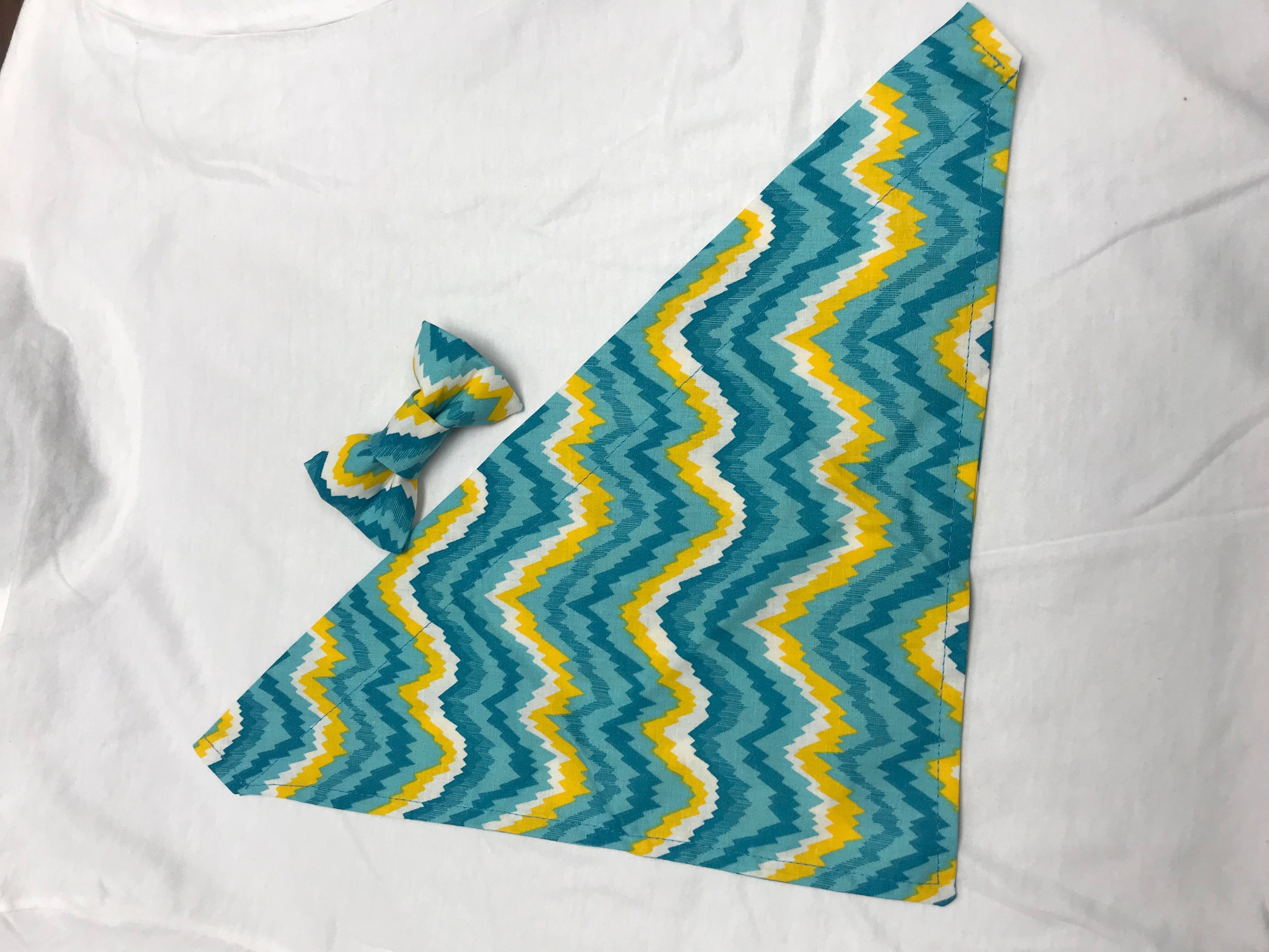 Blue Yellow Swirl Small/Medium